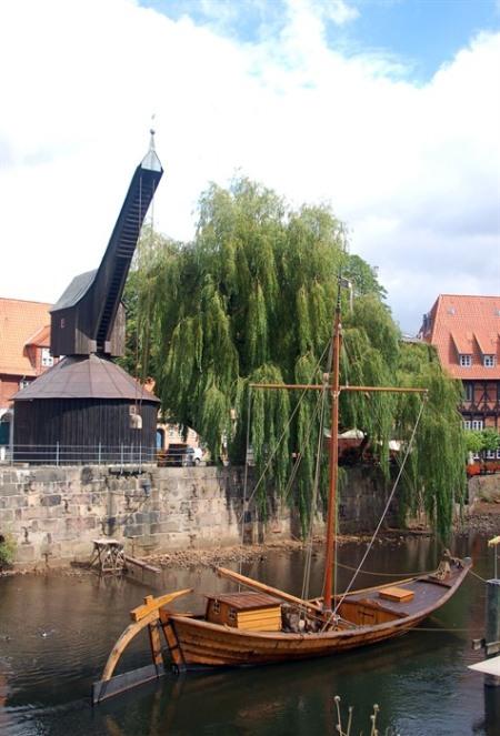 Medieval crane!